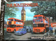 THE ROUTEMASTER MOVING LONDON